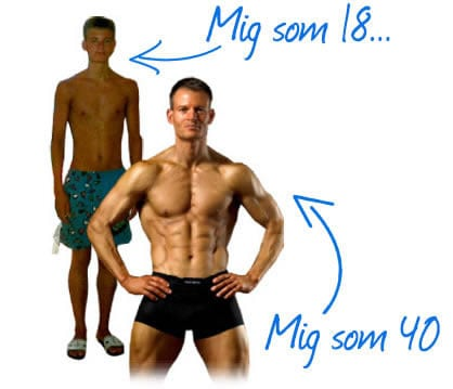 Kaspers personlige forvandling med træning og kost