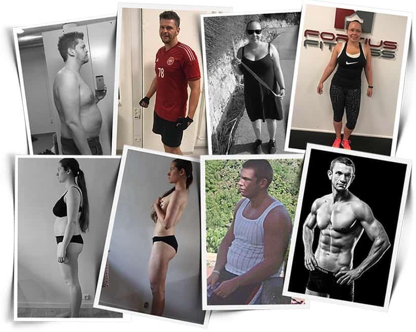 se resultaterne af personlig træning hos Fortius Fitness